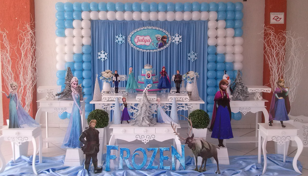 Ideias De Decoração Da Frozen Lorrelscom