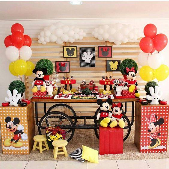 festa da Minnie e do Mickey