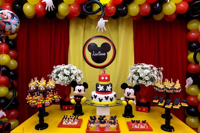 Festa do Mickey: dicas de decoração e imagens incríveis! 4