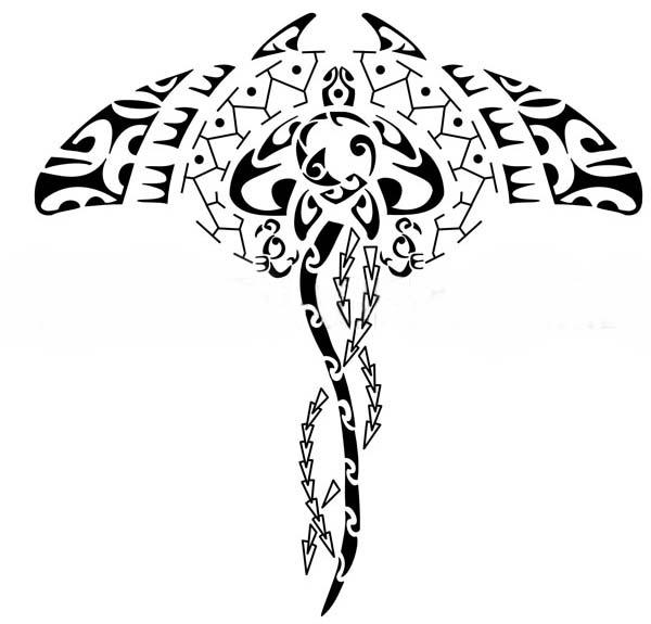 tatuagens Maori Arraia