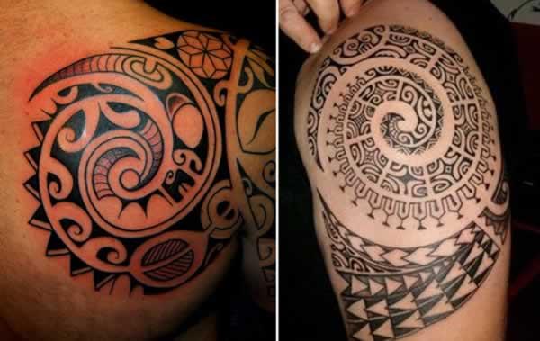 tatuagens Maori Koru (Espiral)