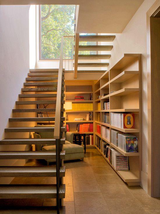 escada interna em l ou u