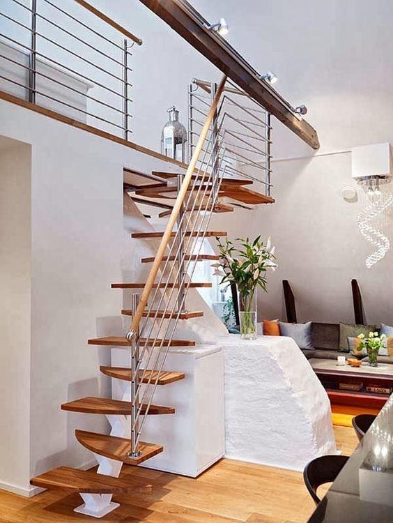 dicas e ideias de escadas internas