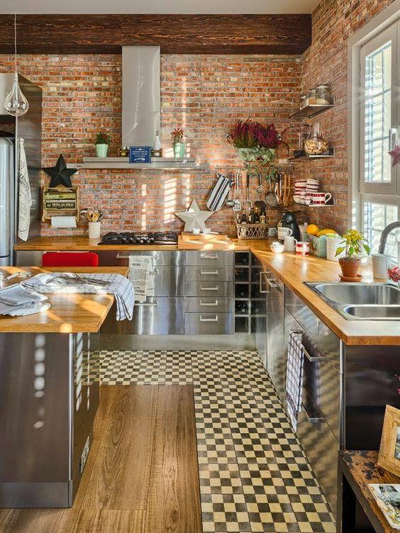 Piso vinílico na cozinha: dicas imperdíveis de como usar! 2