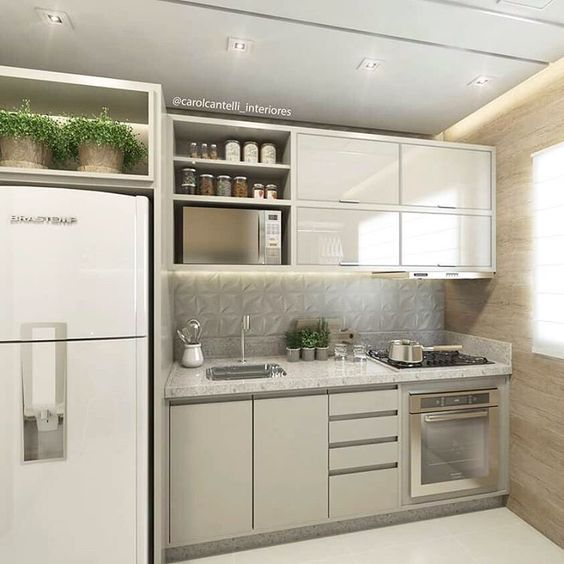 cozinhas corredor quais puxadores usar