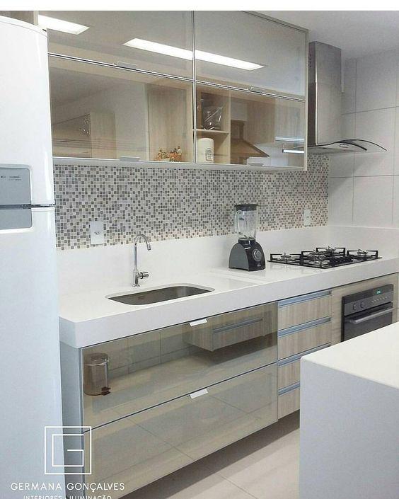 cozinhas corredor revestimento