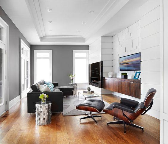 Poltrona Charles Eames para sala