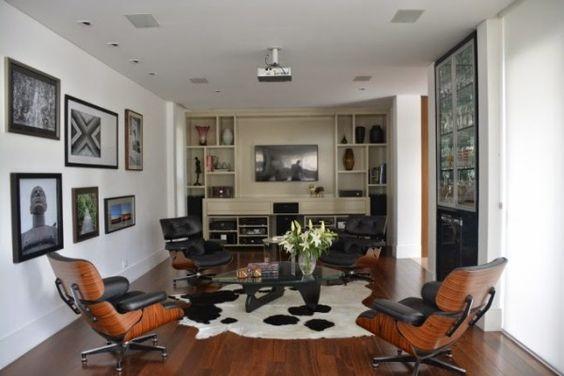 Como usar a poltrona Charles Eames na decoração