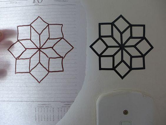 Como fazer uma decoração com fita isolante