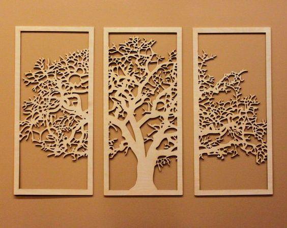 Esculturas de parede: modelos e inspirações de como usar! 1