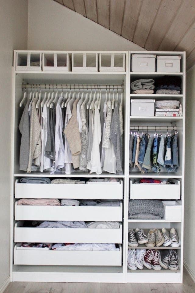 Dicas preciosas de como ter um guarda roupa organizado 3