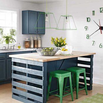 decoracao com pallets cozinha